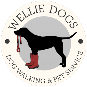 Wellie Dogs Walks Logo